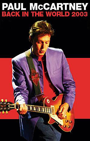 Paul Mccartney Back In The World Tour 2003