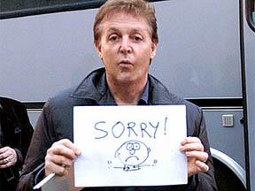 """The Beatles Polska: McCartney """"cichym Beatlesem"""" z powodu przeziębienia."""