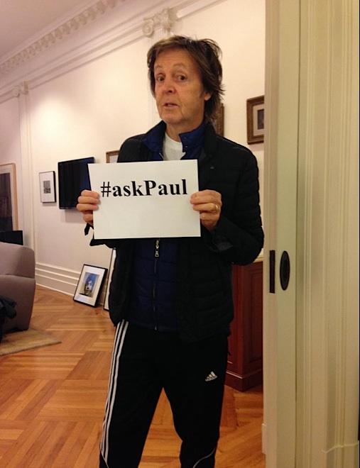 The Beatles Polska:  McCartney odpowiedział na wszystkie pytania #askPaul
